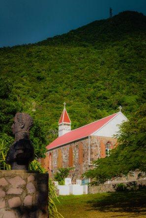 Angelican Church Below Mt Scenery