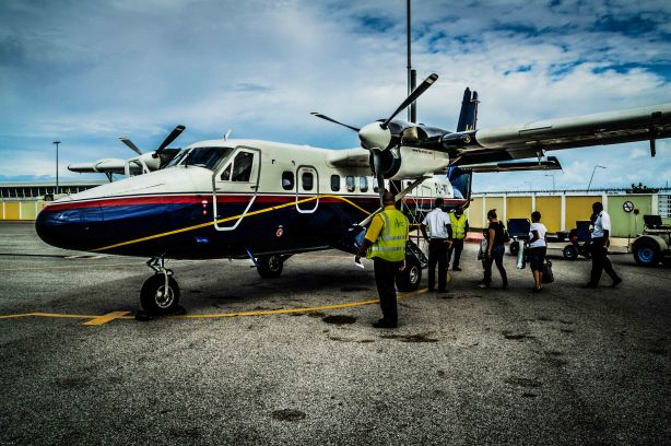 Winair To Saba