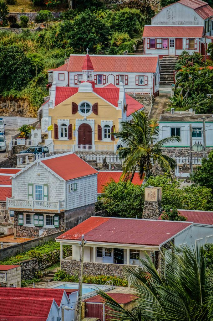 Saban Architecture, Windwardside, Saba, Dutch Caribbean