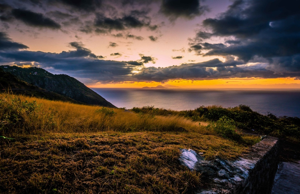 Sunrise, Saba, Dutch Caribbean