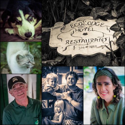 Ecolodge's Michael, Bernt, and Elizabeth