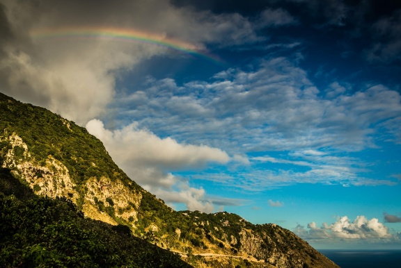 Saba Rainbow, January 2013
