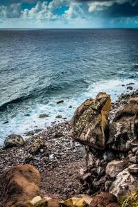 Balancing Rock, Saba South Coastline