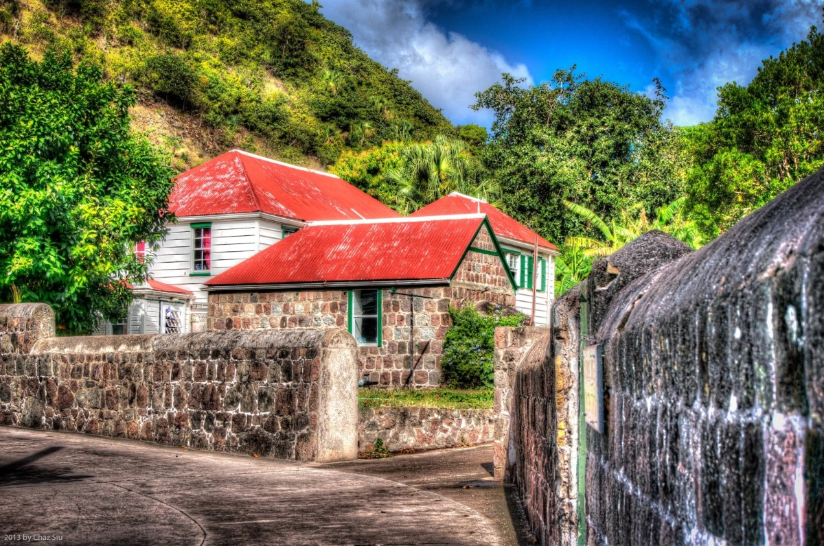 Saban Houses, The Bottom, Saba, Dutch Caribbean