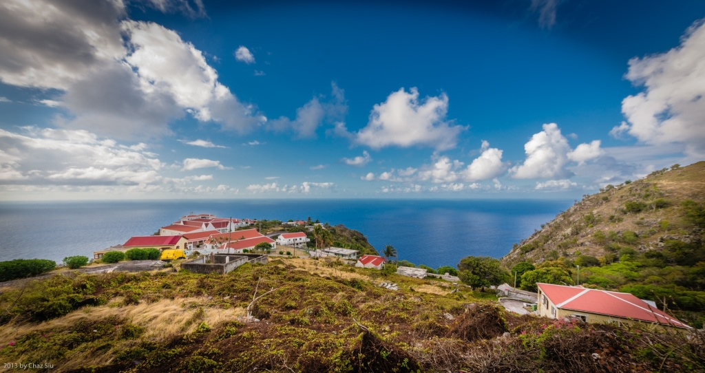 St Johns, Saba, Dutch Caribbean