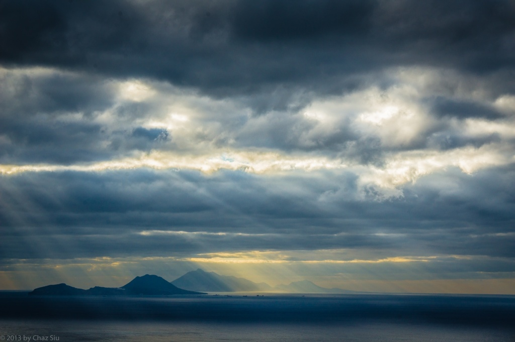 Sunbeams On Statia, St. Kitts, and Nevis, Saba, Dutch Caribbean