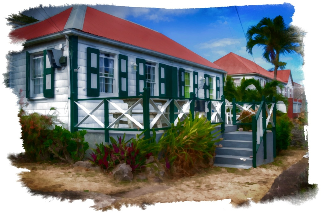 Three Cottages, Saba, Dutch Caribbean