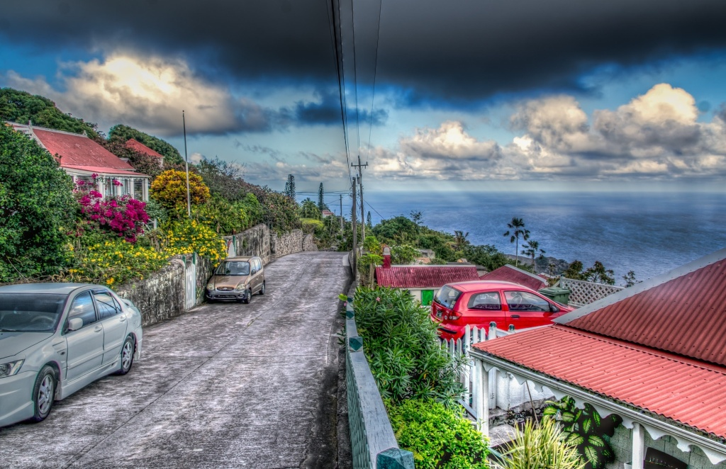 The Road, Windwardside, Saba, Dutch Caribbean