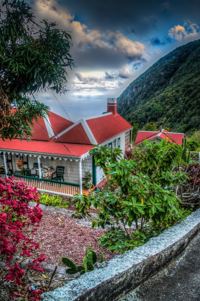 Windwardside House, Saba, Dutch Caribbean