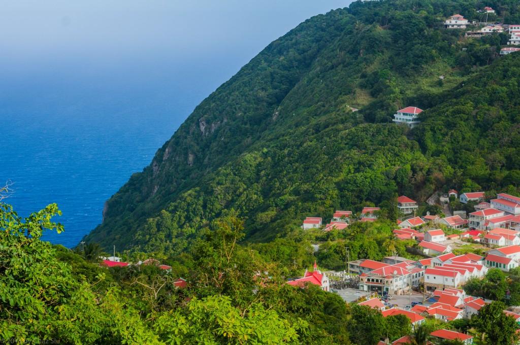 East Dropoff, Windwardside, Saba, Dutch Caribbean