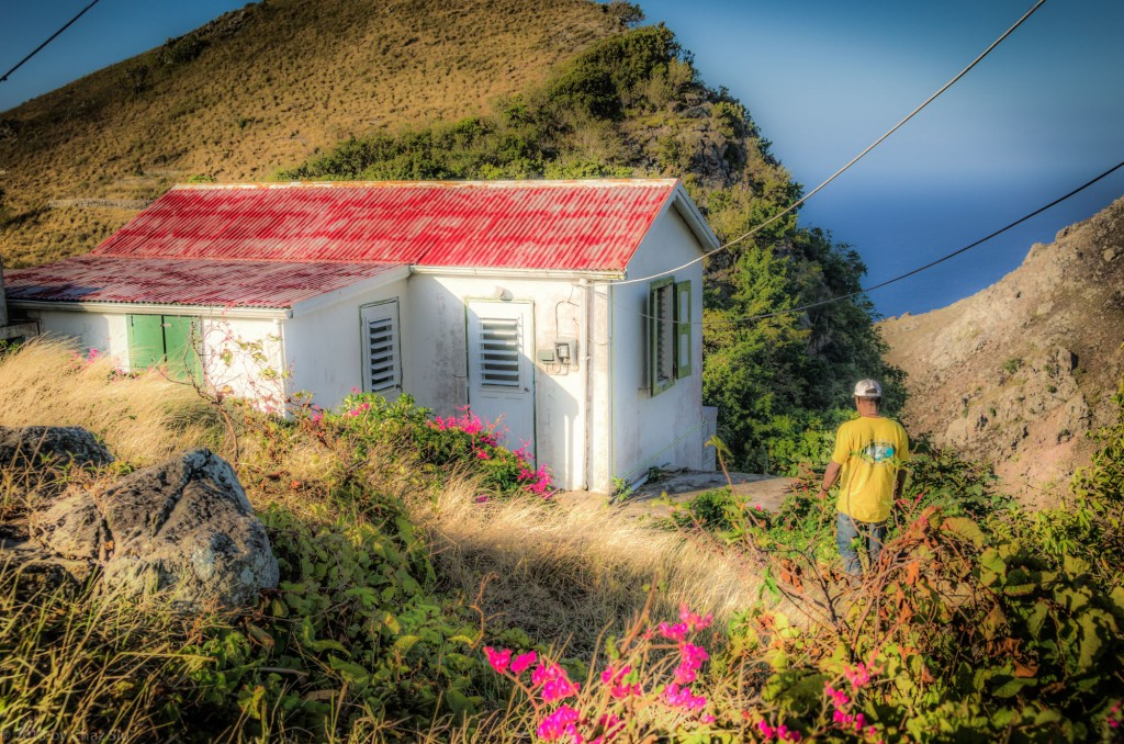 Victor and His House, Saba, Dutch Caribbean