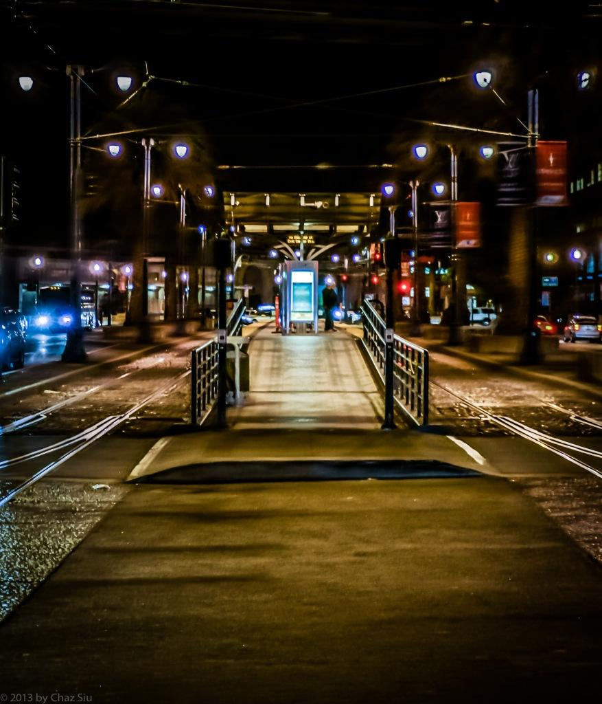 Muni Light Rail Platform, San Francisco, CA