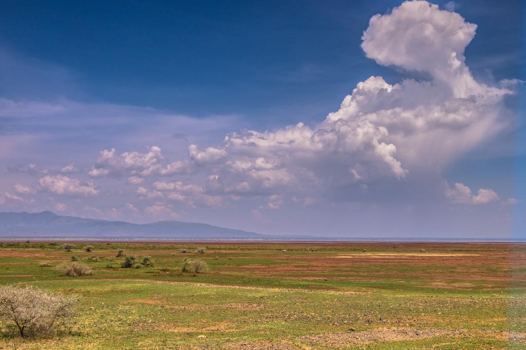 Clouds Above Lake Manyara Plain