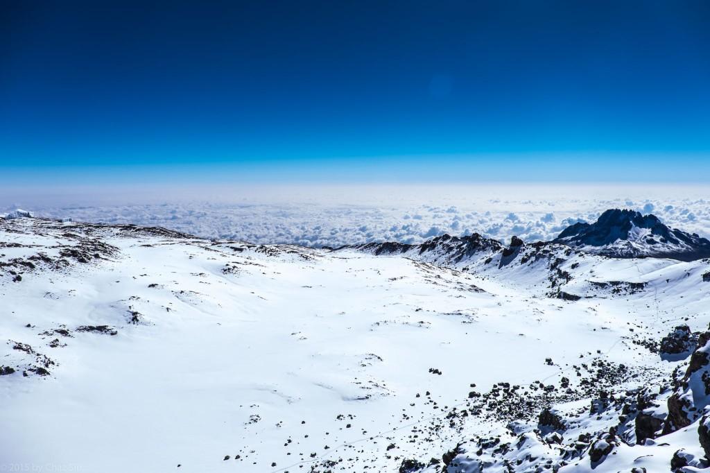 Kibo Crater and Rim