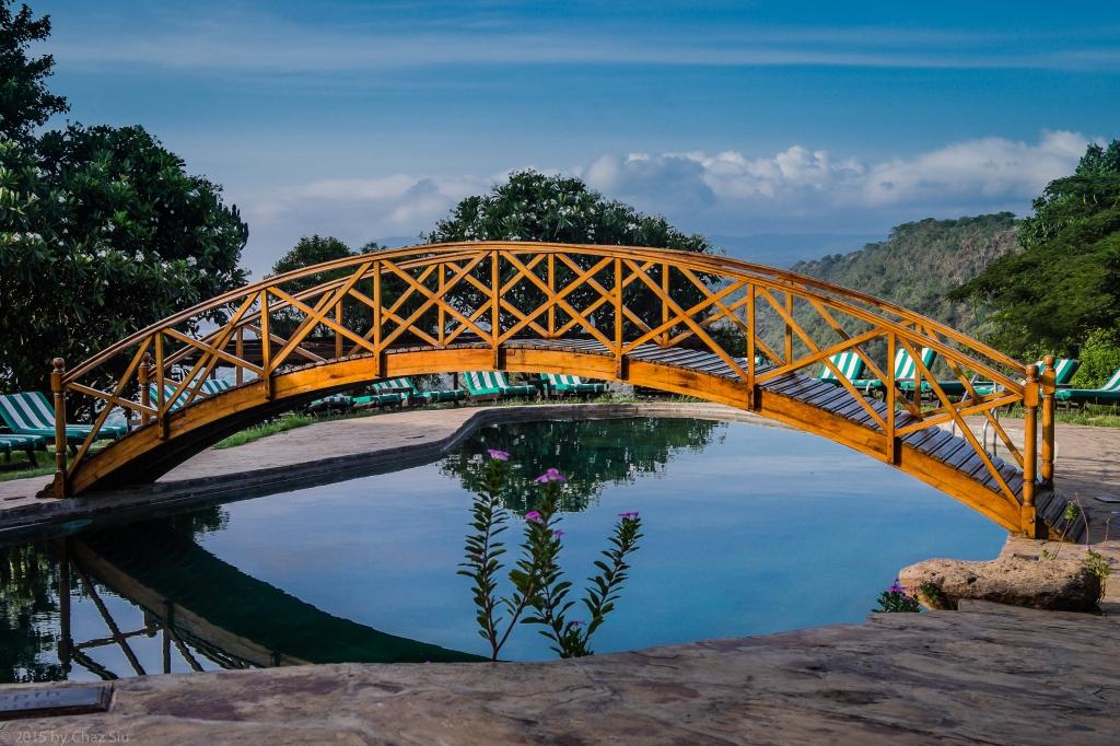 Lake Manyara Lodge Pool View