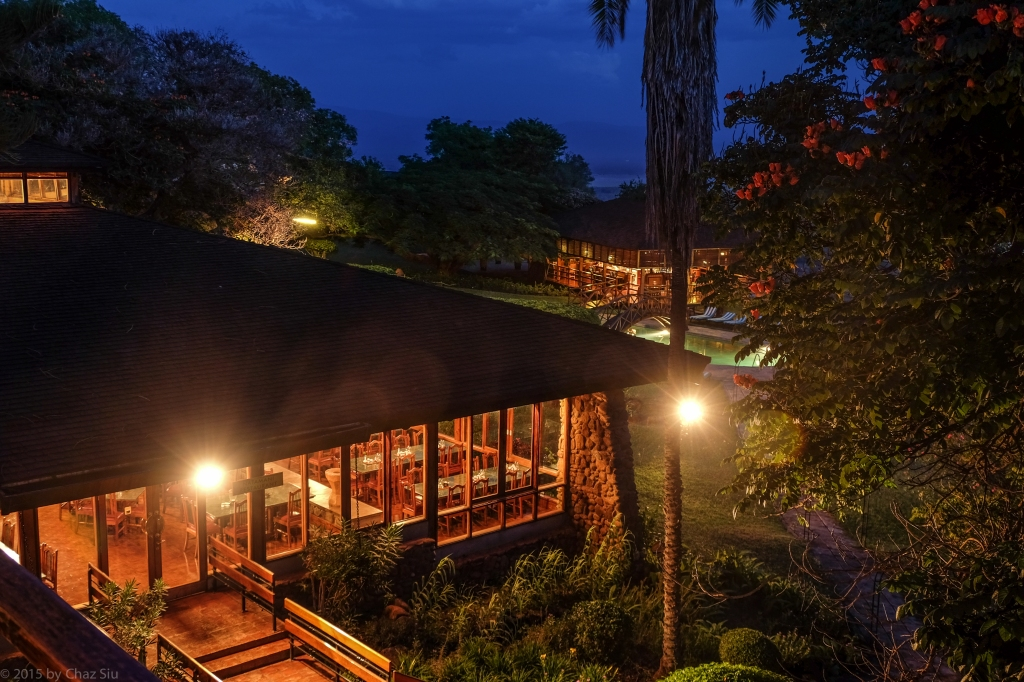 Lake Manyara Lodge Restaurant