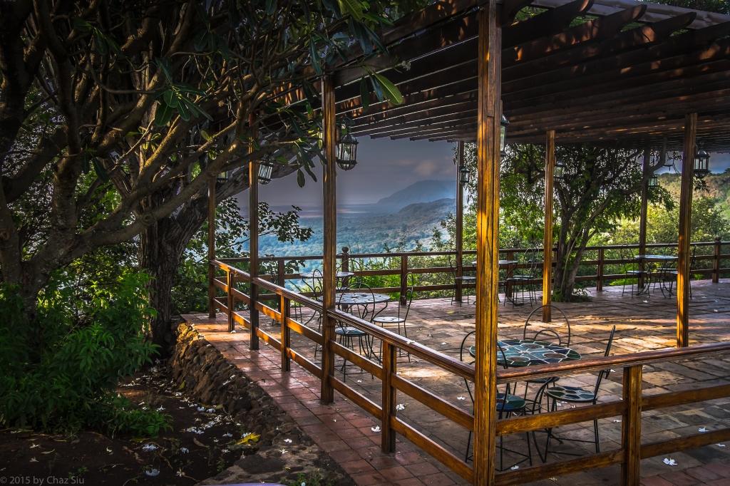 Lake Manyara Lodge Terrace View