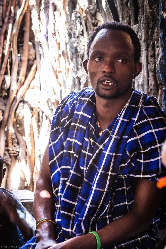Maasai Chief Baraaka