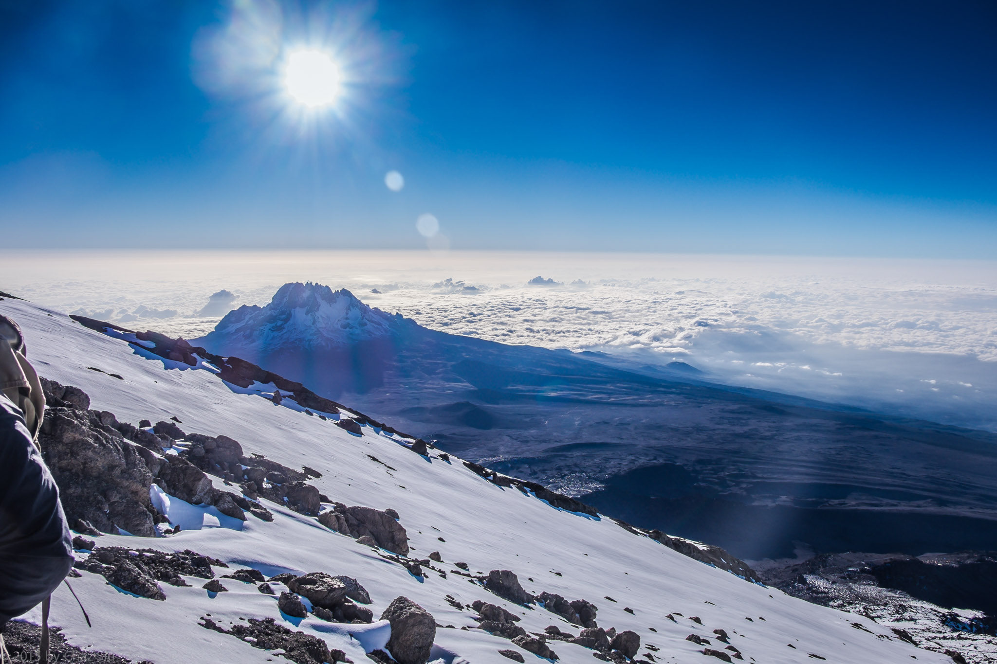 Kilimanjaro Day 8-9: Summit Time Is Glacier Time, Earth Curvature