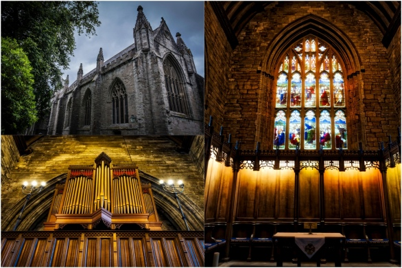 Dunkeld Cathedral Collage