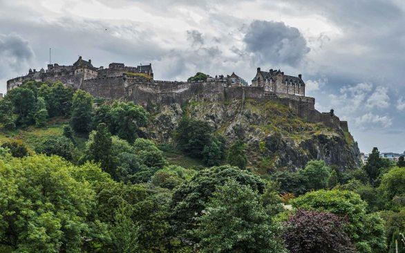Edinburgh Castle Mount