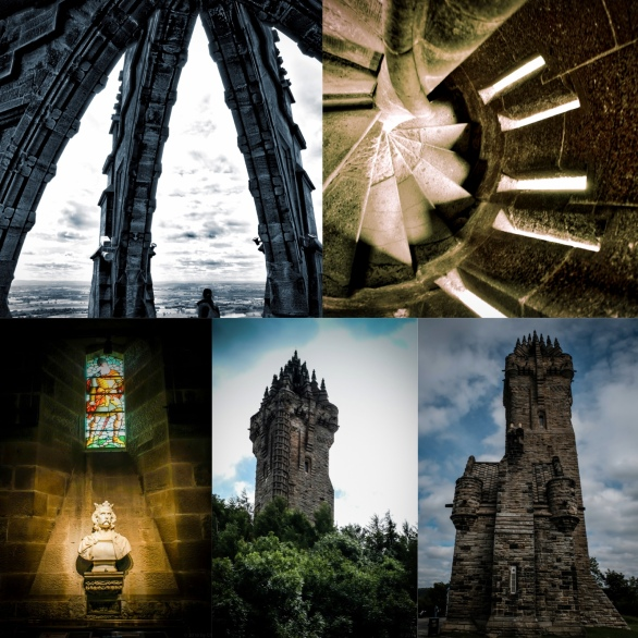 WallaceMonumentCollage